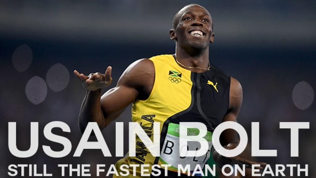 Usain Bolt: Still the fastest man on earth