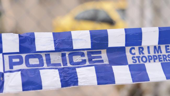 A body has been found in a burning car in Rooty Hill.