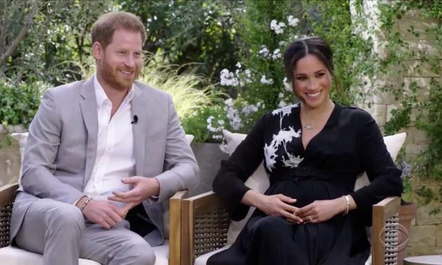 Meghan Markle Prince Harry Oprah interview second royal baby