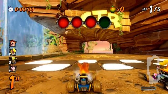 Crash Team Racing: Nitro-Fuelled gameplay footage
