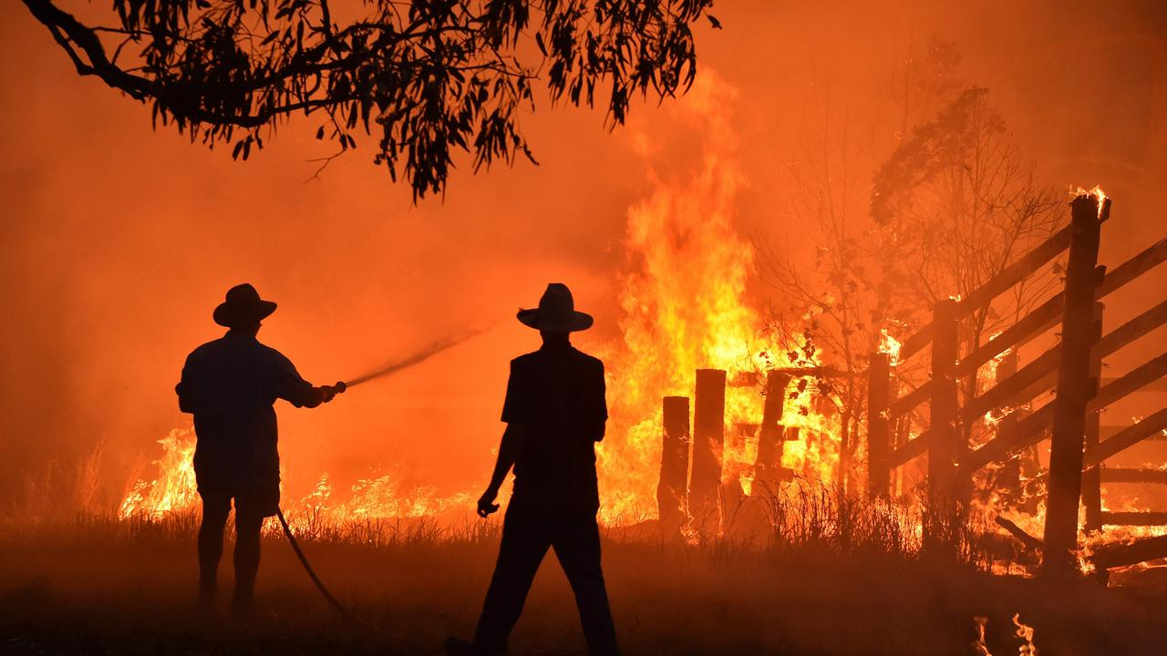 Last summer was the worst bushfire season on record. Picture: Peter Parks/AFP
