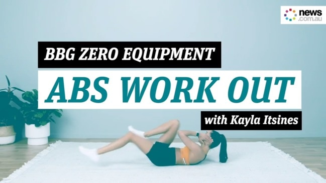 You Got This: Kayla Itsines' zero equipment abs work out