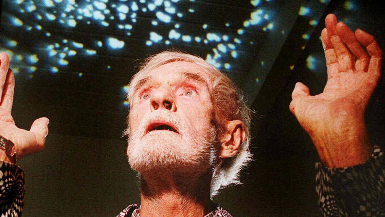 LSD guru Dr.Timothy Leary poses for a portrait at his home in Beverly Hills in California. Picture AP/MarkJTerrill