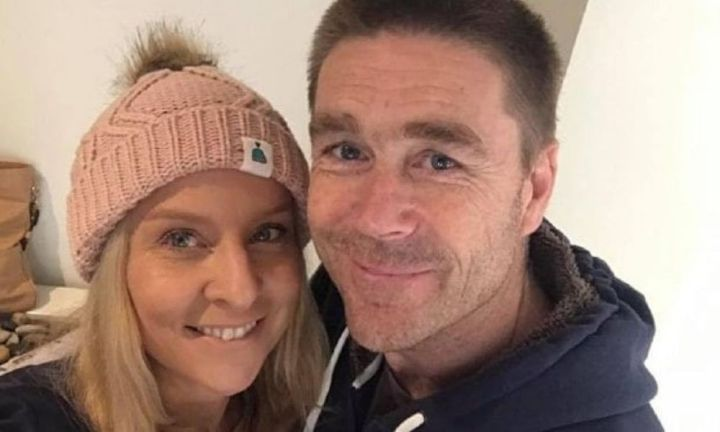 Wife's final moments with husband being euthanised