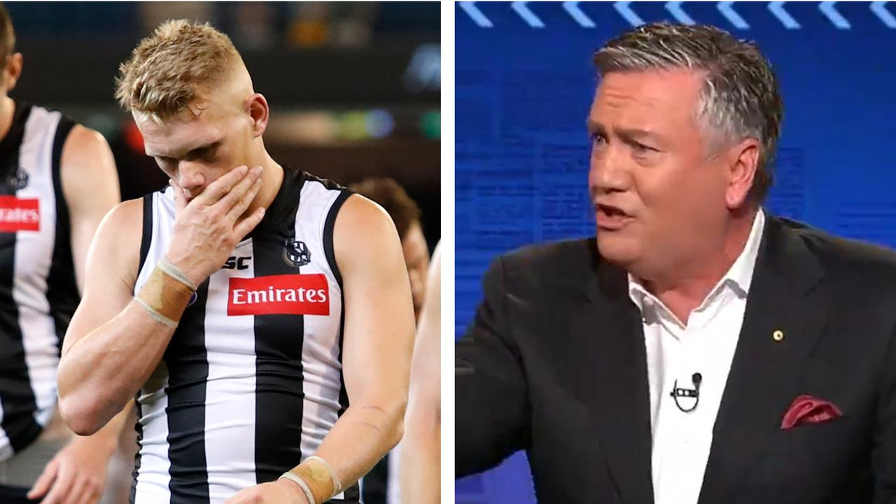 Adam Treloar left Collingwood as Eddie McGuire defends the trade period.