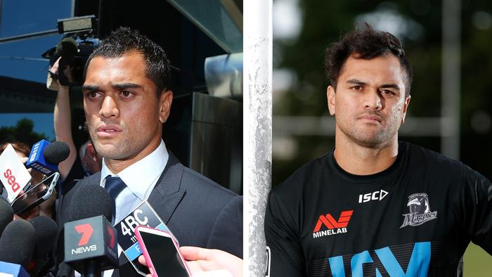 Karmichael Hunt: Then and now.