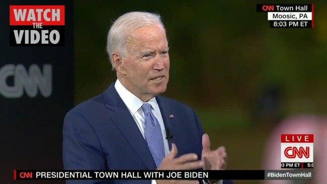 Joe Biden slams President Trump over his handling of the coronavirus pandemic