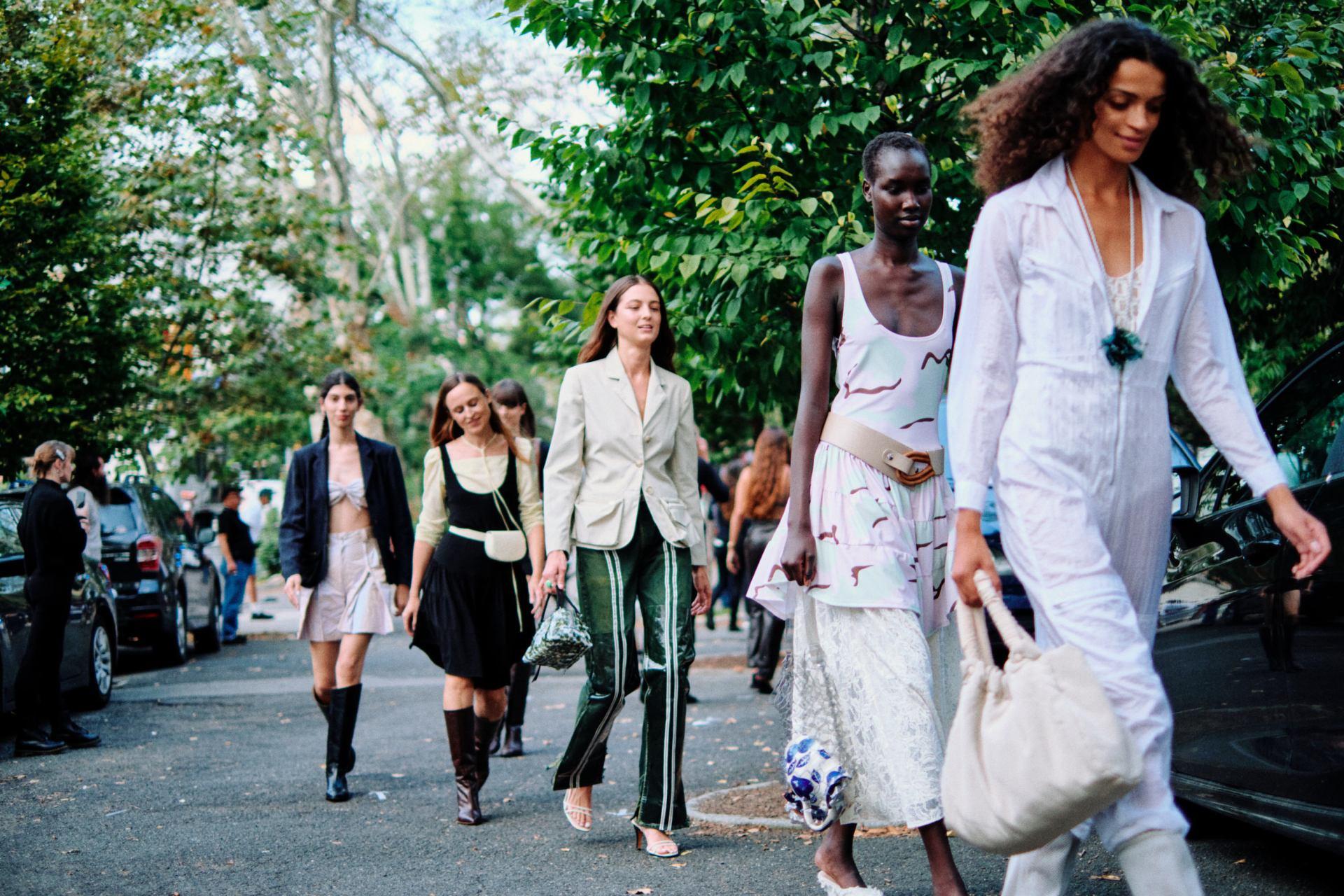 Vogue meets Maryam Nassir Zadeh, New York Fashion Week's next-gen star