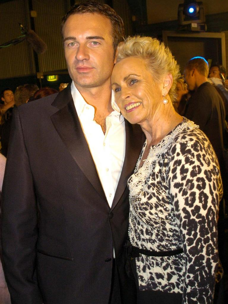 Lady Sonia McMahon with her actor son Julian.