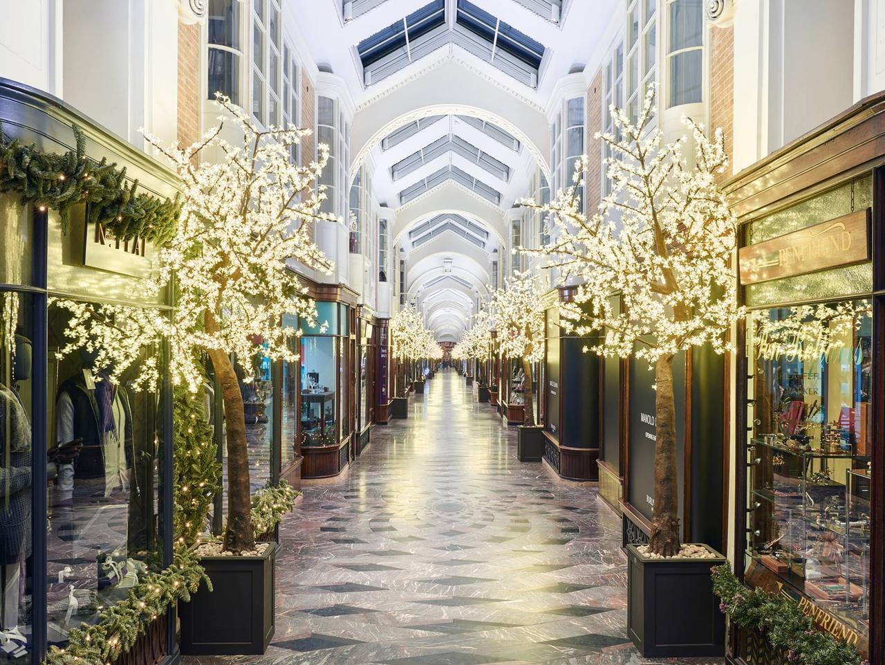 ESCAPE: Burlington Arcade, 51 Piccadilly, London, United Kingdom. Picture: Facebook
