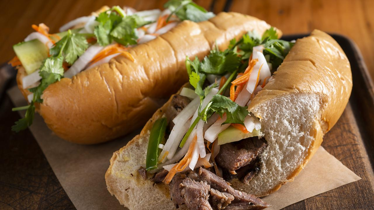 If you go for crusty, firm breads, they're better paired more heavily textured fillings such as a Vietnamese baguette or a BLT, the celeb chef explains. Picture: iStock