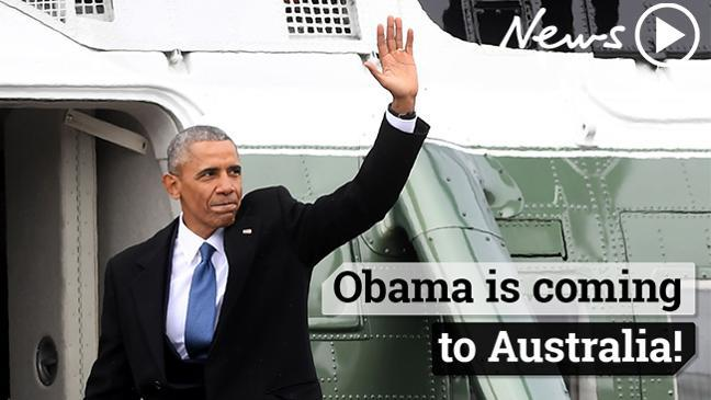 Obama is coming to Australia!