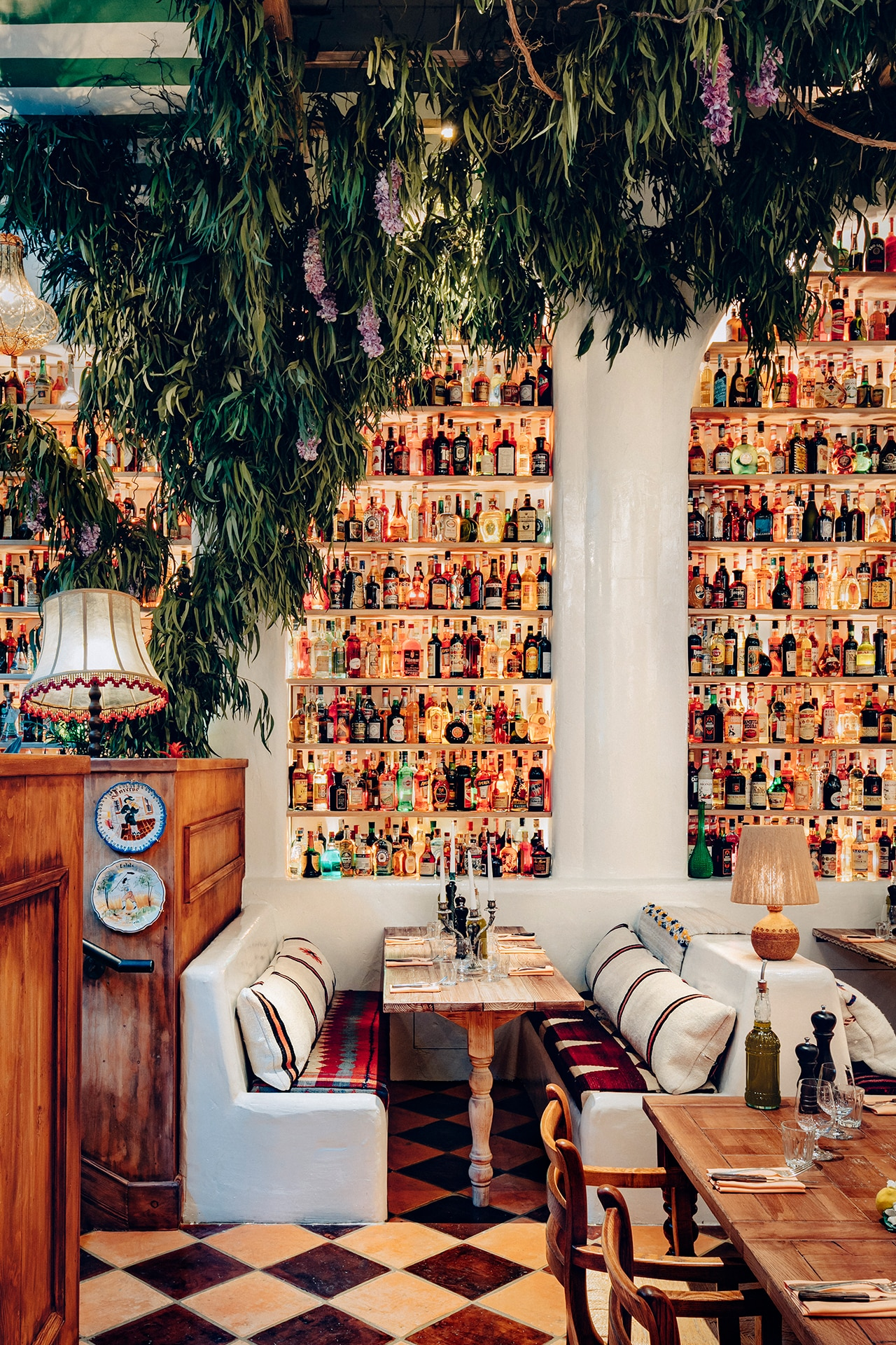 This big-hearted Italian restaurant is full of quirky vintage finds