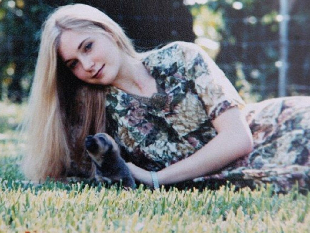 Virginia Roberts at age 16. Picture: Supplied