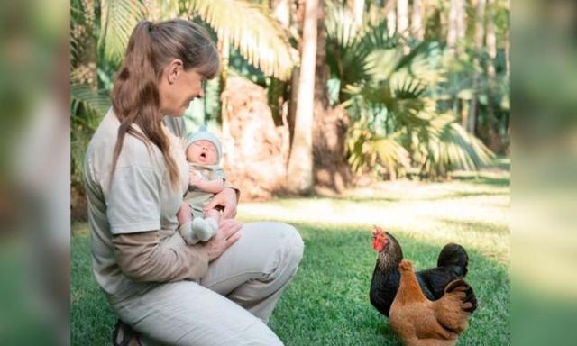 Terri Irwin's 'wonderful moment' with grand daughter at Australia Zoo