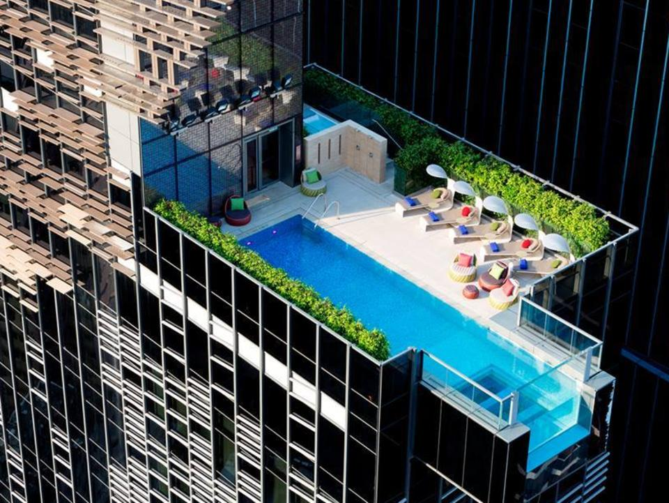 ESCAPE BEST POOLS IN THE WORLD Hotel Indigo Pool Hong Kong. Picture: Facebook