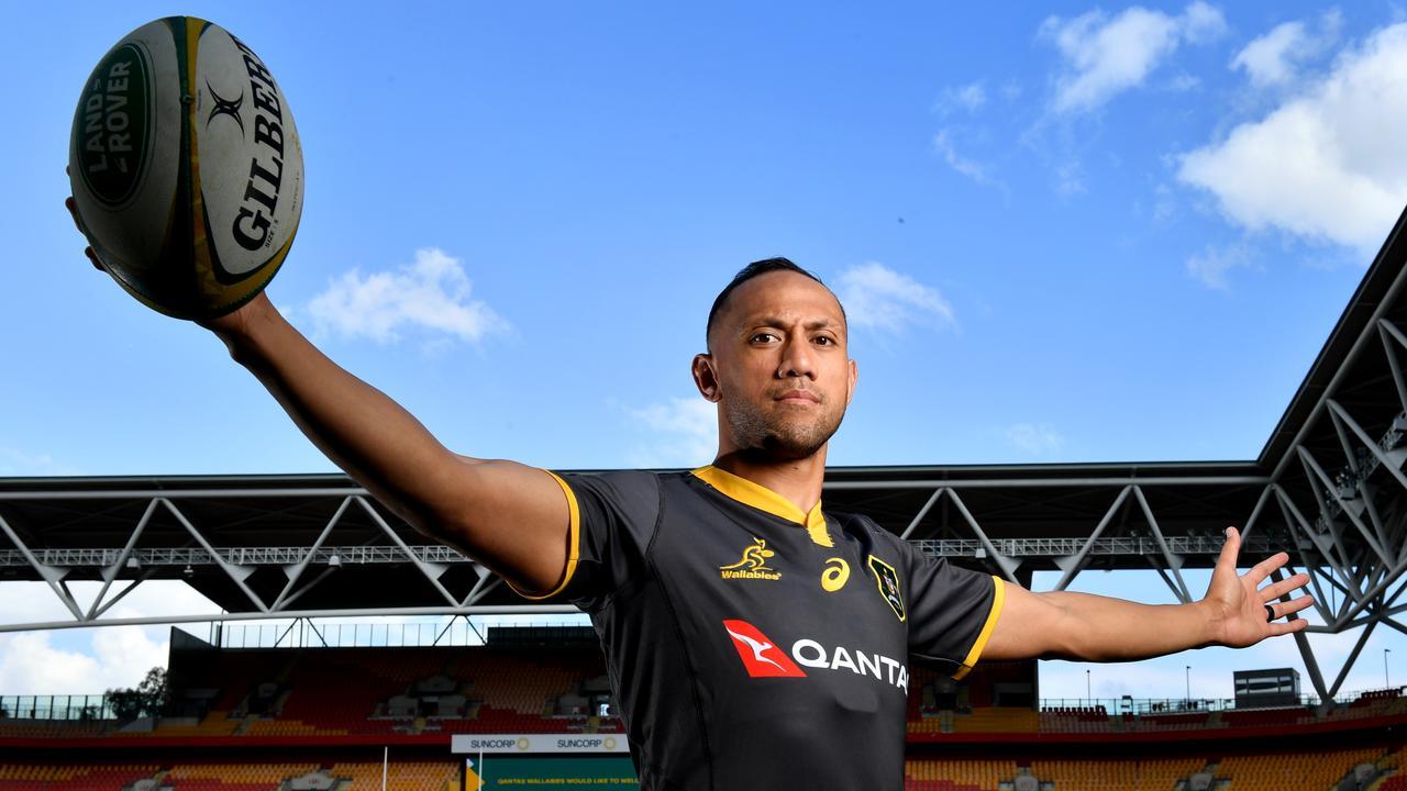 Christian Lealiifano at Suncorp Stadium in Brisbane.