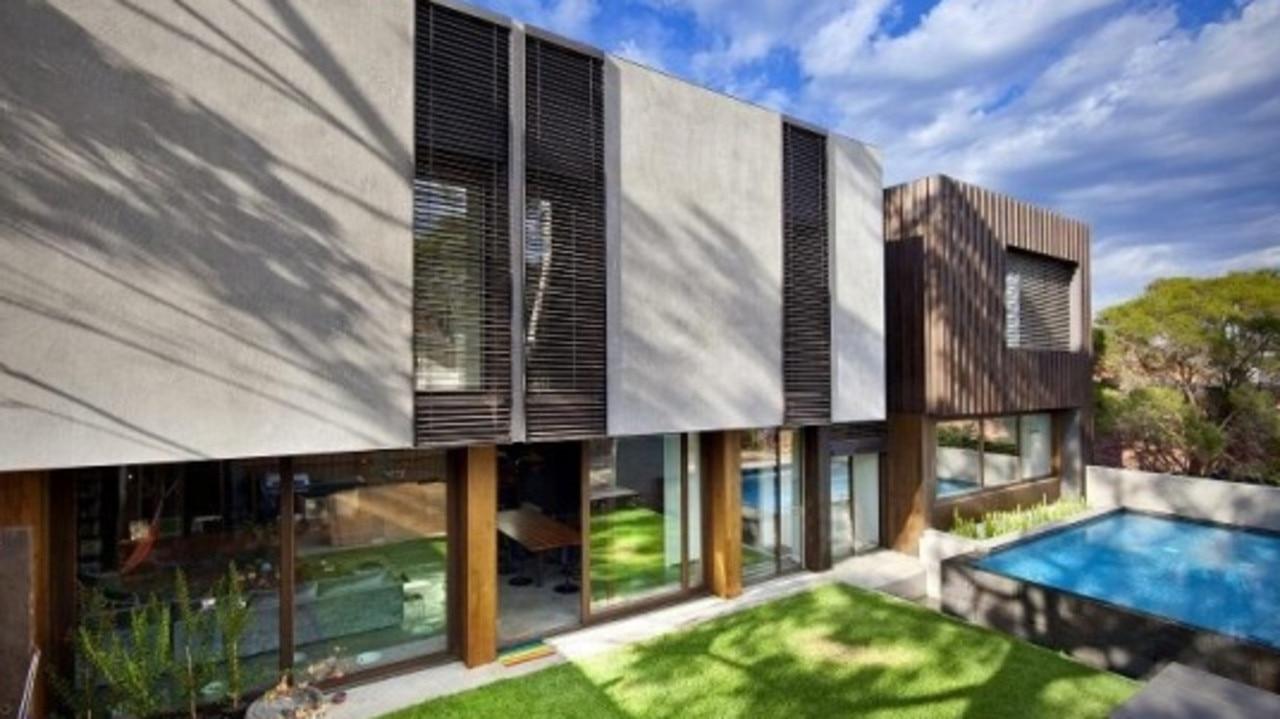 The Melbourne home. Picture: Neil Architecture