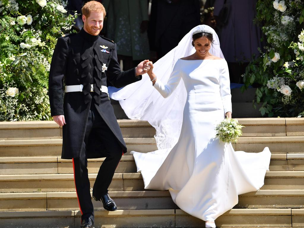 After meeting Meghan Markle, Prince Harry's life seemed to be following the path of a fairytale. Picture: Ben Stansall/AFP