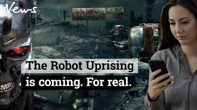 The Robot Uprising is coming. For real.