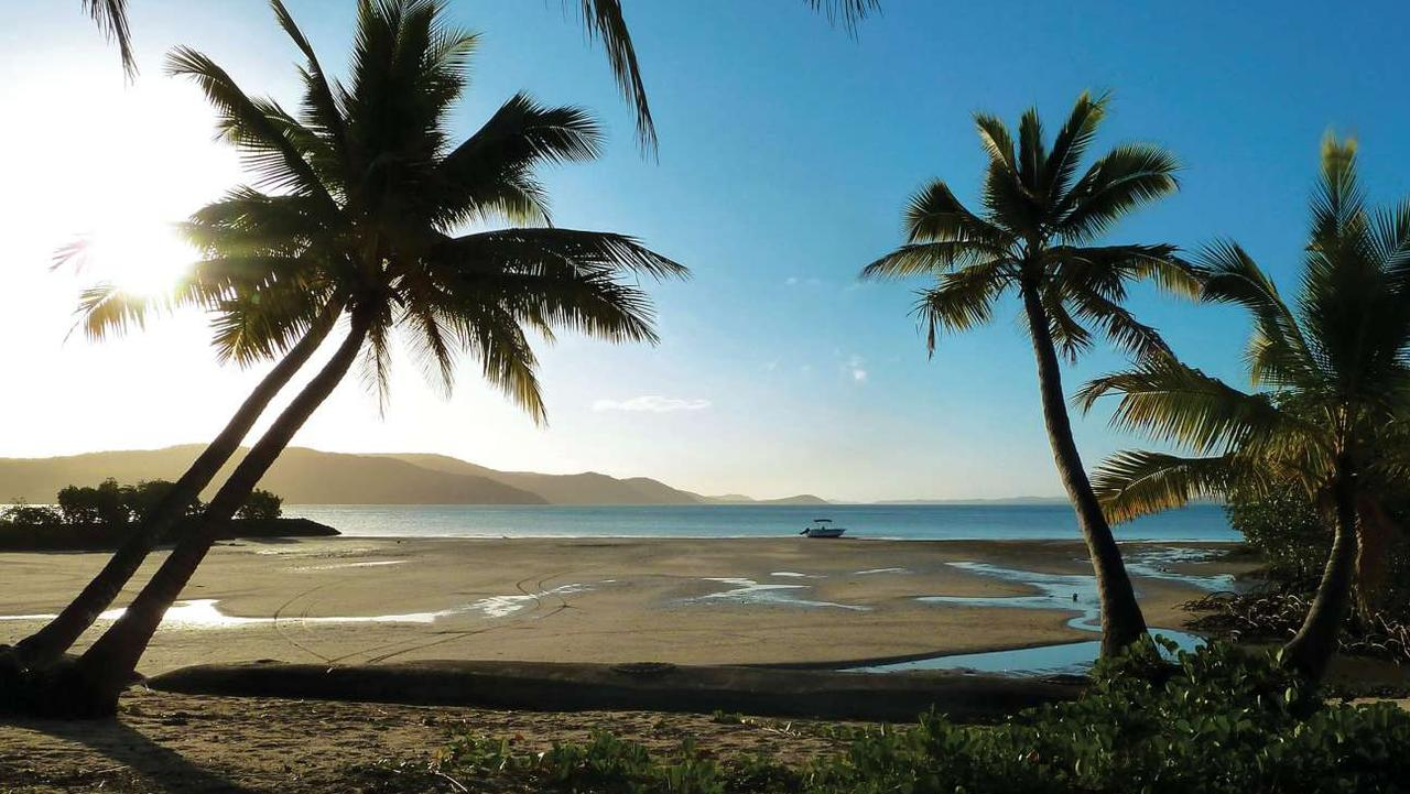 Zuna Island off the Queensland coast is for sale at about $1.9 million. Picture: Private Islands Inc