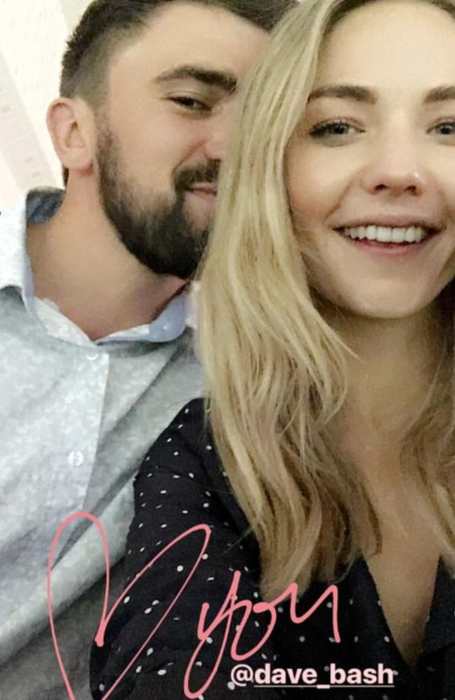 Sam Frost shows off her new love on Instagram.