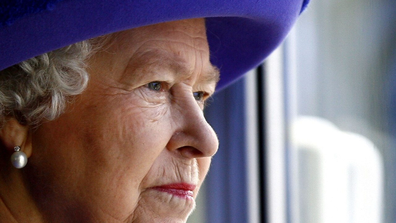 Queen makes first appearance for 2021 at RAF ceremony