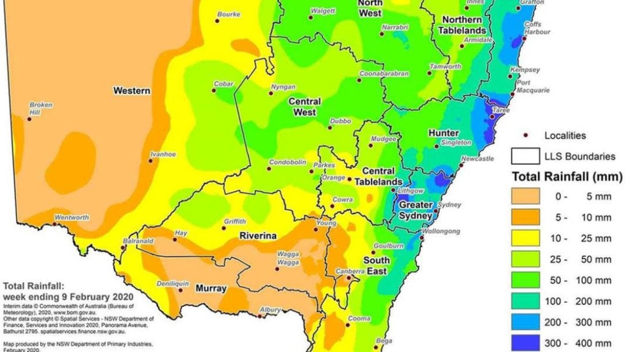 NSW has had a huge amount of rain, but it hasn't been enough to end the drought.