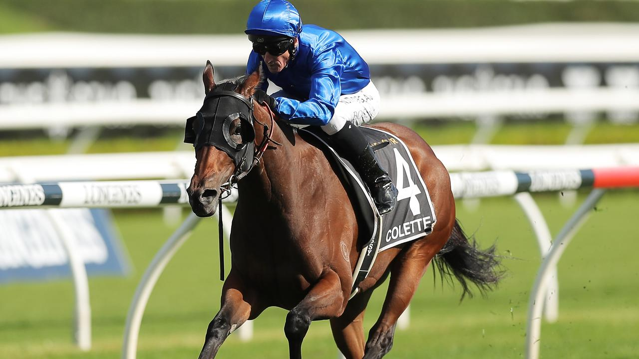 Group 1 winner Colette will relish a drop in class in the Tristarc Stakes at Caulfield. Picture: Getty Images