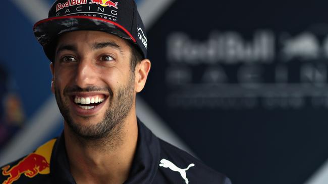 Daniel Ricciardo's always up for a laugh.