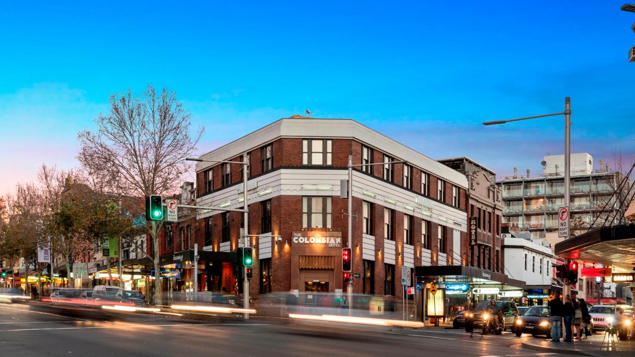 The Columbian Hotel is a Darlinghurst institution. Picture: Ray White Hotels Australia