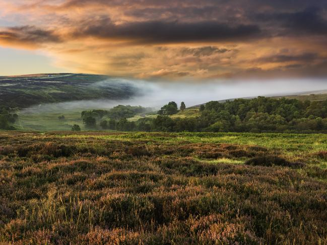 MY FIRST OVERSEAS TRIP to the UK was inspired by a book, Wuthering Heights by Charlotte Bronte. I have family in Yorkshire and together we visited the former Bronte family home in Haworth. The Yorkshire moors are so evocative; listening closely I swear I could hear Catherine's pained cry: Heathcliff, Heathcliff.
