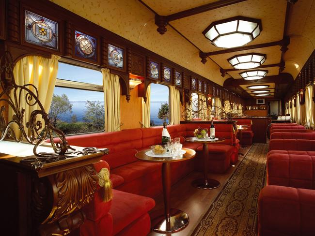 GOLDEN EAGLE TRAIN, RUSSIA: A journey on part of the famed Trans-Siberian Railway is the stuff of bucket lists in itself, but throw in a resident guide descended from Catherine the Great herself and you're in for something extra special. Though running throughout the year, the Golden Eagle Train has been chartered by Steppes Travel for this one-off experience in June next year. The 15-day journey takes passengers via Russian landmarks such as the breathtaking Lake Baikal (the world's largest freshwater lake), to Vladivostok, via UlaanBaatar, Mongolia. En route, guests will be able to indulge in caviar and champagne from the plush dining car decked out in red velvet seats.  steppestravel.co.uk,  goldeneagleluxurytrains.com