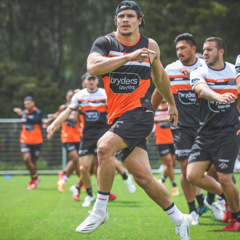 James Roberts is thriving at his new club the Wests Tigers.