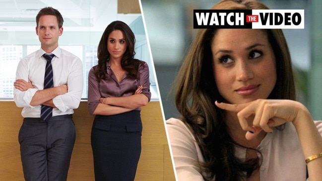 meghan markle s suits co star patrick j adams admits he s intimidated to reach out suits co star patrick j adams admits