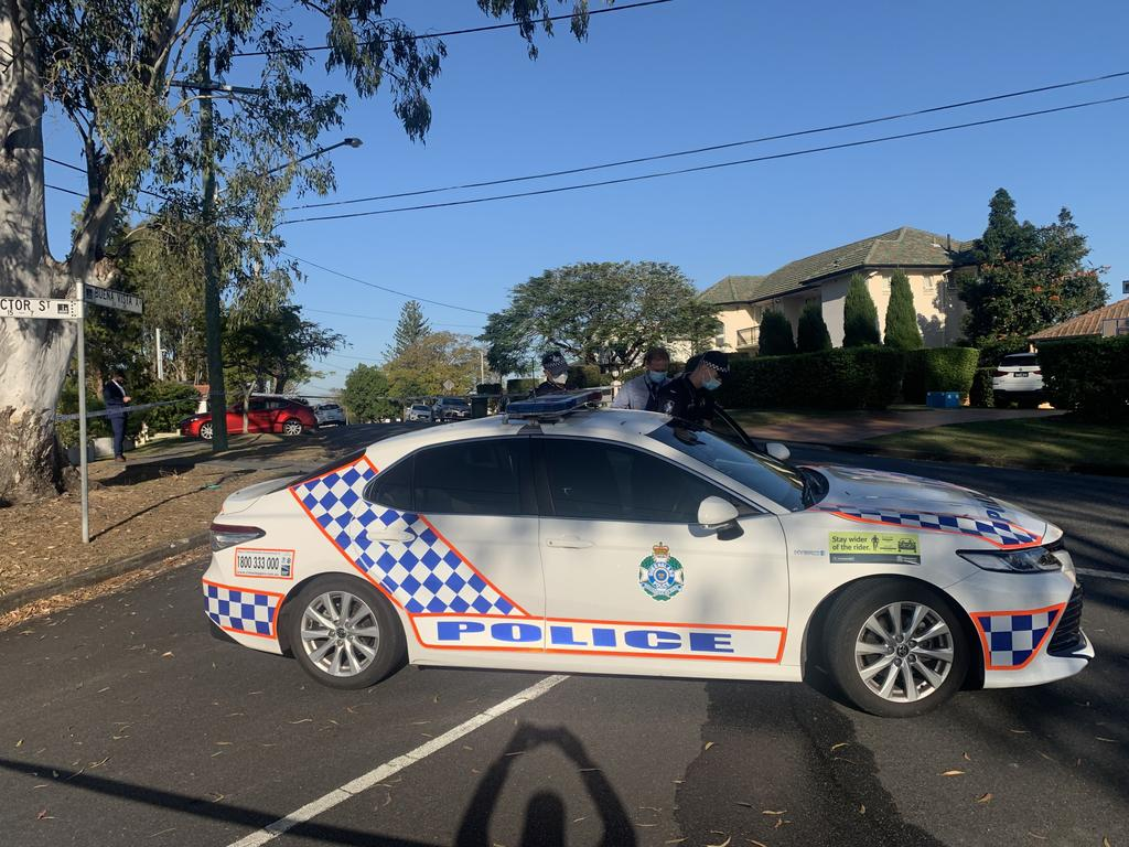 Four people have been rushed to hospital with stab wounds after an altercation broke out. Photo: Brad Fleed.