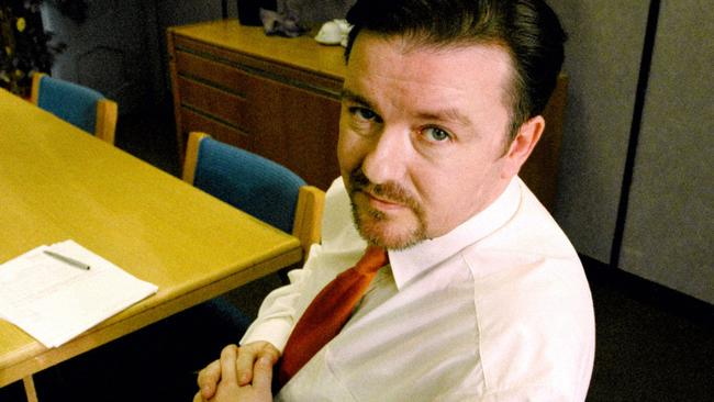 Ricky Gervais was famous for the awkward brand of comedy he perfected as David Brent in The Office,