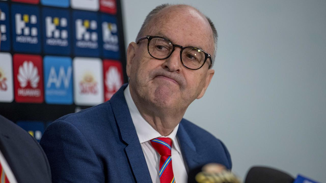 Gold Coast Suns chairman Tony Cochrane says expanding the AFL to 20 teams is completely unrealistic. Picture: Jerad Williams