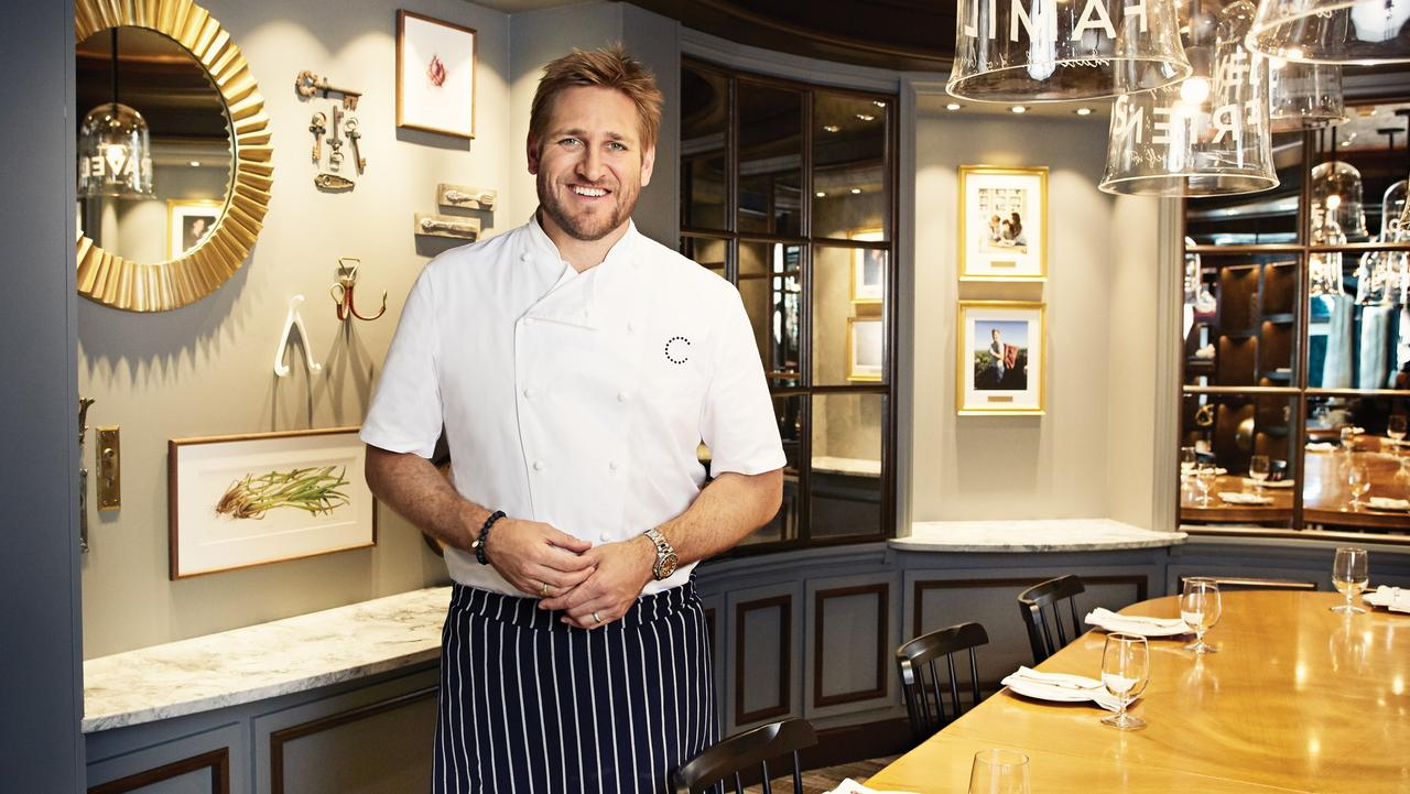 Curtis Stone on the Ruby Princess.