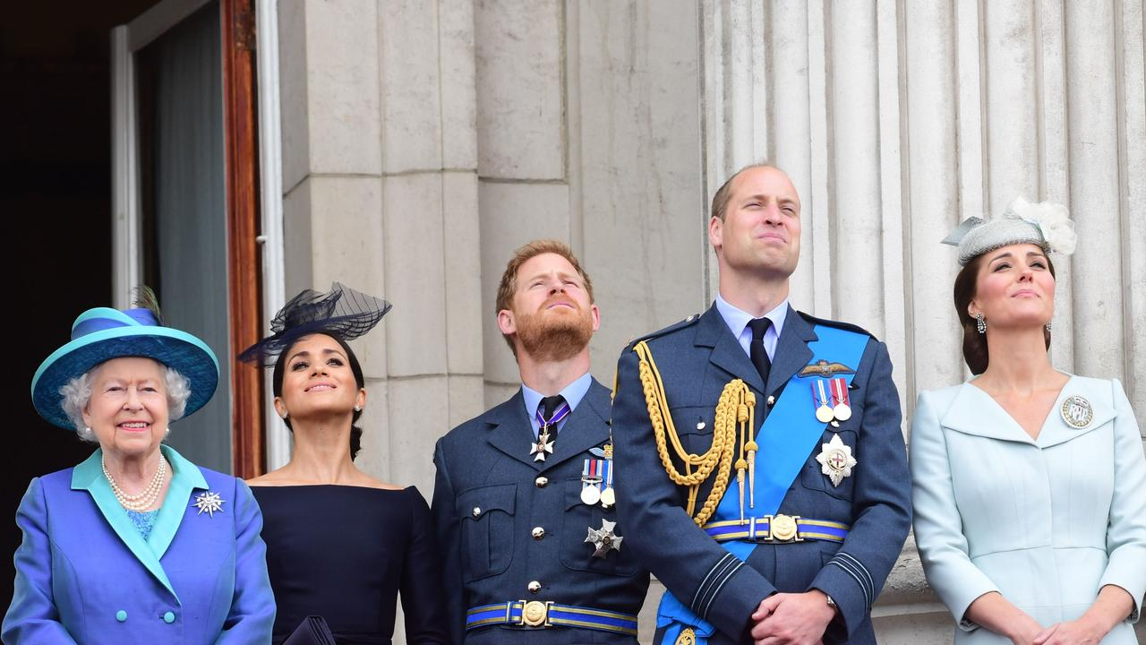 Meghan and Harry stepped back as senior royals early last year. Picture: Paul Grover/WPA Pool/Getty Images