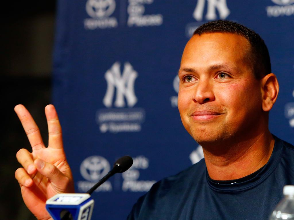 Alex Rodriguez played his final MLB match for the New York Yankees in 2016.