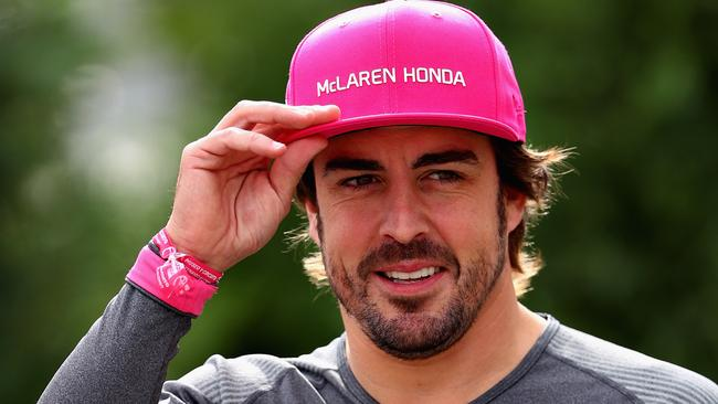 Alonso wants to be one of the best ever.