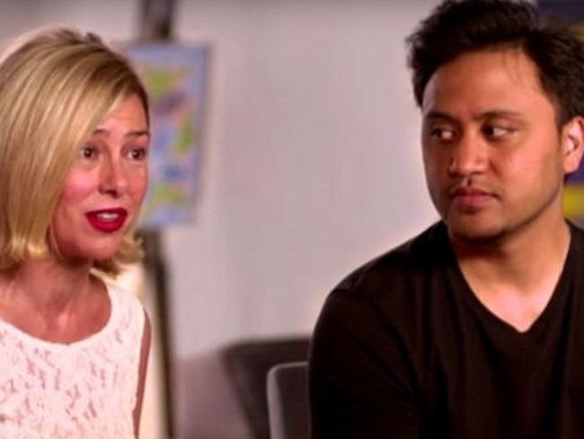 Mary Kay Letourneau and Vili Fualaau appear on ABC TV in the US. Picture: ABC