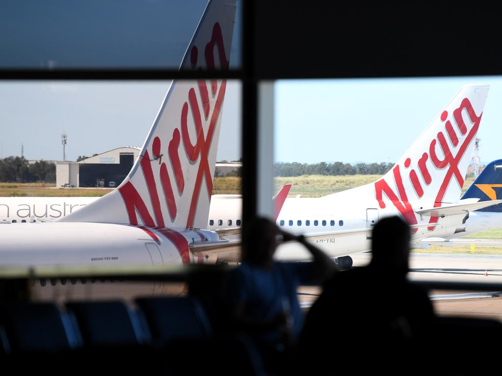 COVID-19 has changed a lot about flying, even domestically. Picture: Dan Peled/AAP