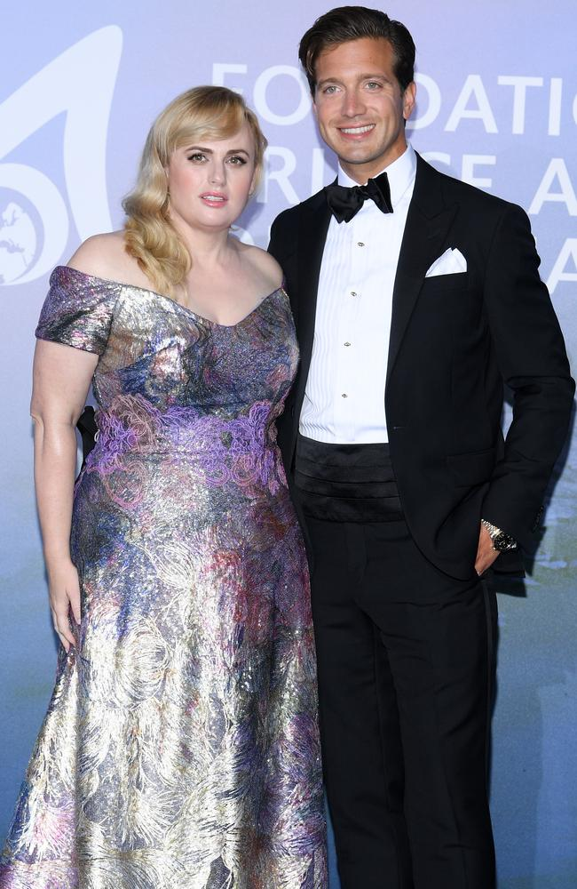 Rebel and Jacob stepped out as a couple last month for the Gala For Planetary Health in Monte-Carlo, Monaco. Picture: Getty Images.