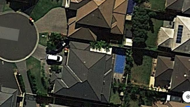 The Kellyville home where twins drowned. Source: Google