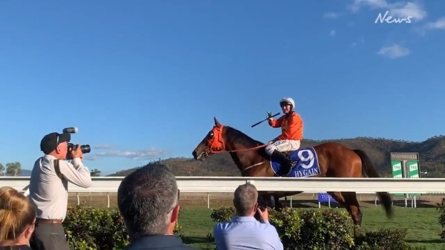 The Harrovian wins the Townsville Cup