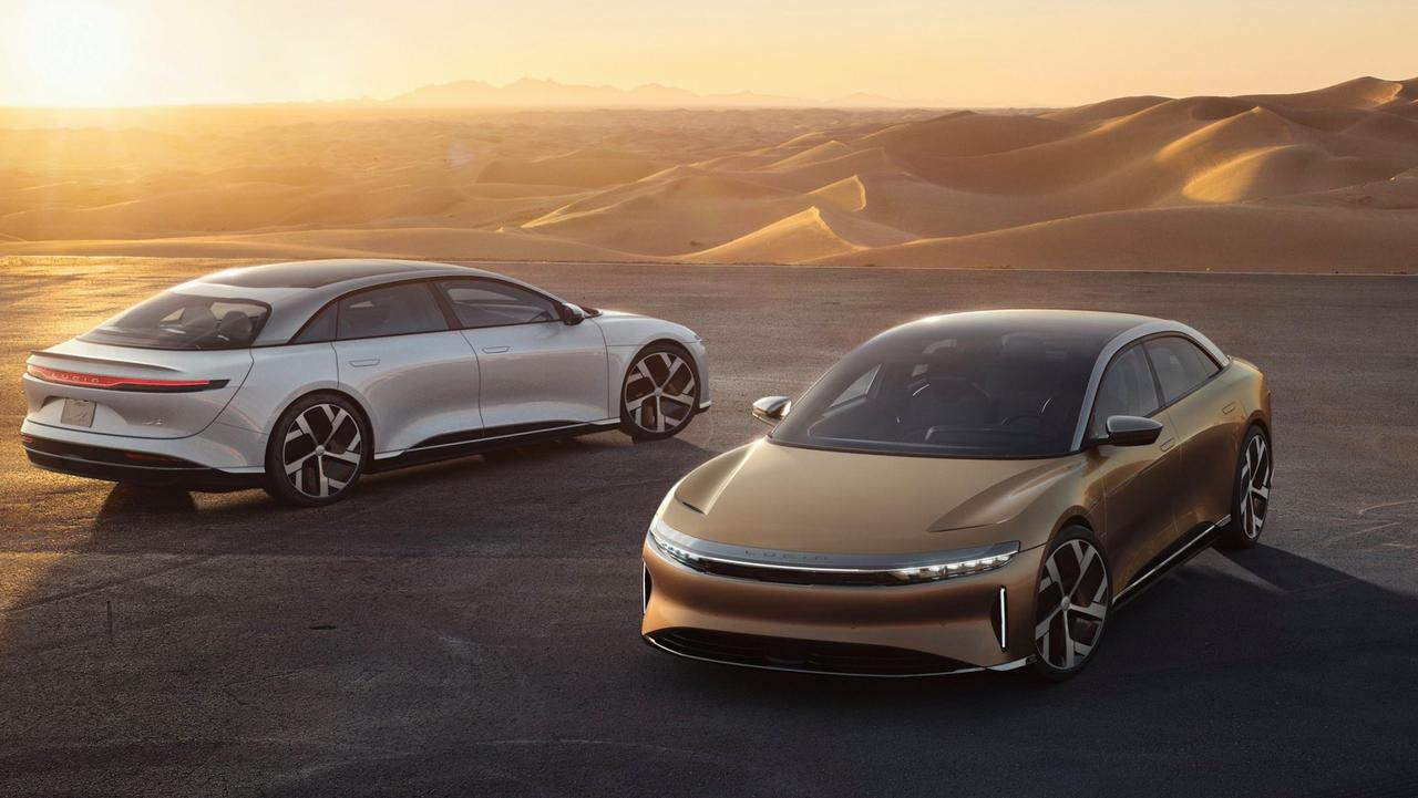 Lucid Motors plans a range of electric cars, starting with the Air sedan.
