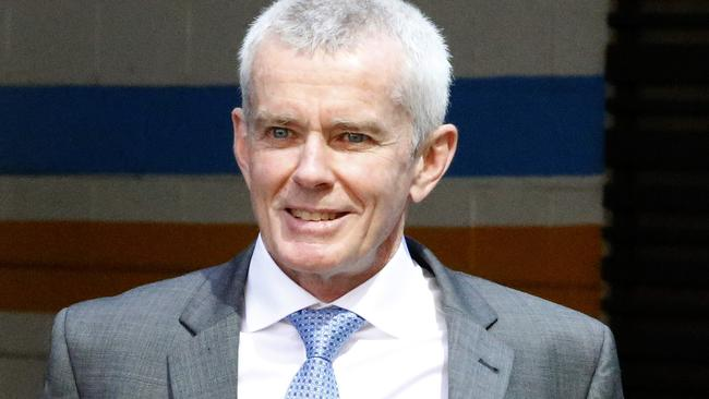 Malcolm Roberts leaving The High Court. Picture: Regi Varghese