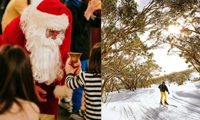 Best places for the family to celebrate Christmas in July
